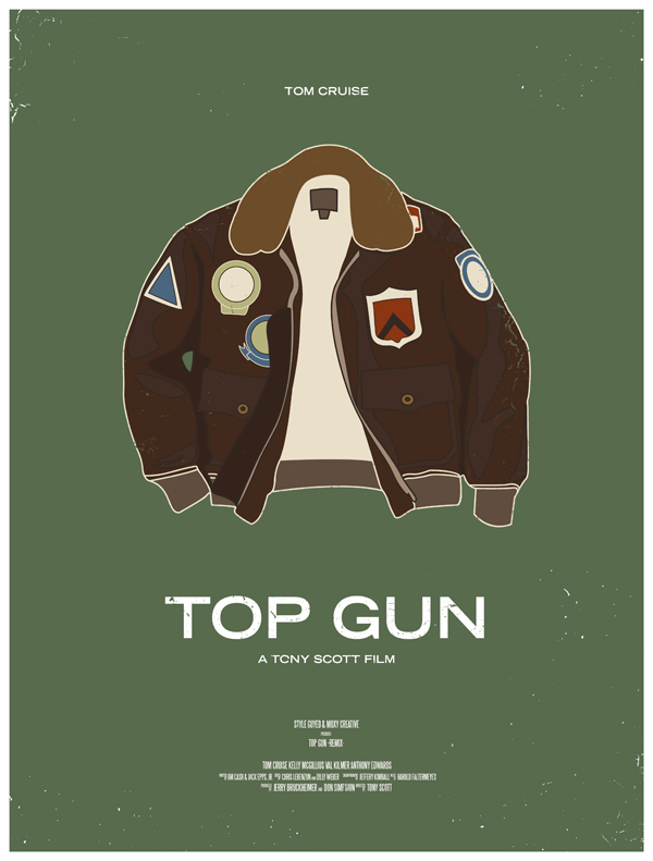 Top-gun--movie-poster-dress-the-part